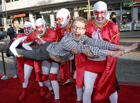 dick: Andy Dick attends the World Premiere of Nacho Libre held at the Graumans Chinese Theater in Hollywood, California on June 12, 2006.