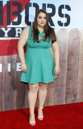 sorority: Beanie Feldstein at the Los Angeles premiere of 'Neighbors 2: Sorority Rising' held at the Regency Village Theatre in Westwood, USA on May 16, 2016.