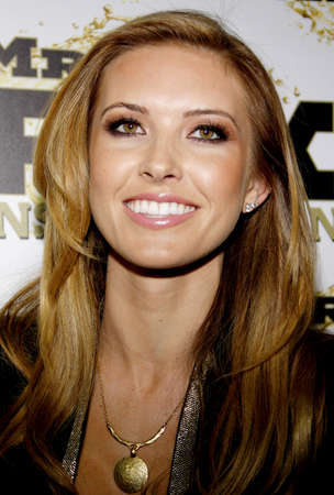 Audrina Patridge at the Mr. Pink Ginseng Drink Launch Party held at the Regent Beverly Wilshire Hotel in Beverly Hills, USA on October 11, 2012. 報道画像