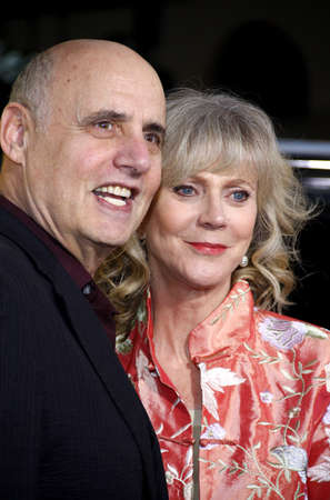 jeffrey: Jeffrey Tambor and Blythe Danner at the Los Angeles Premiere of Paul held at the Graumans Chinese Theater in Hollywood, USA on March 14, 2011. Editorial