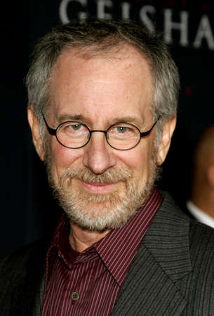 Steven Spielberg attends the Los Angeles Premiere of Memoirs of a Geisha held at the Kodak Theatre in Hollywood, California, United States on December 4, 2005.
