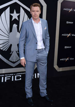 dolby: Diego Klattenhoff at the Los Angeles premiere of Pacific Rim held at the Dolby Theater in Hollywood on July 9, 2013 in Los Angeles, California.