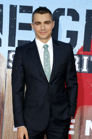 sorority: Dave Franco at the Los Angeles premiere of 'Neighbors 2: Sorority Rising' held at the Regency Village Theatre in Westwood, USA on May 16, 2016.