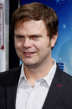 wilson: Rainn Wilson at the Los Angeles premiere of Monsters vs. Aliens held at the Gibson Amphitheatre in Universal City on March 22, 2009.