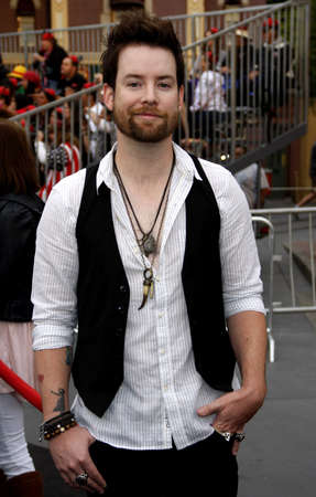 tides: David Cook at the Los Angeles premiere of Pirates Of The Caribbean: On Stranger Tides held at the Disneyland in Anaheim on May 7, 2011. Editorial