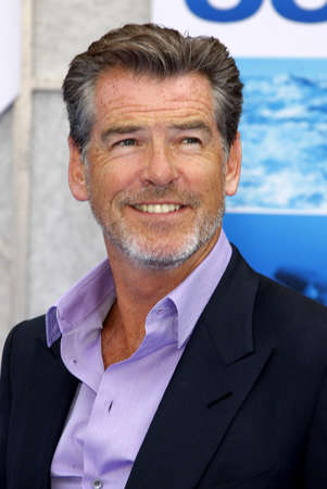 pierce: Pierce Brosnan at the Los Angeles premiere of 'Oceans' held at the El Capitan Theater in Hollywood, USA on April 17, 2010.