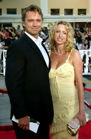 mr and mrs: John Schneider at the Los Angeles Premiere of Mr. & Mrs. Smith held at the Manns Village Theater in Westwood, USA on June 7, 2005.