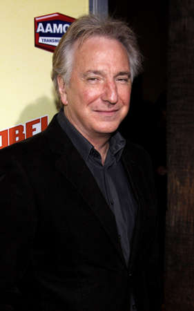 alan: Alan Rickman at the Los Angeles premiere of Nobel Son held at the Egyptian Theater in Hollywood on December 2, 2008.
