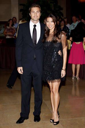 Eric Winter and Roselyn Sanchez at the Operation Smile's 8th Annual Smile Gala held at the Beverly Hilton Hotel in Beverly Hills, USA on October 2, 2009.