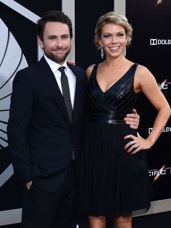dolby: Charlie Day and Mary Elizabeth Ellis at the Los Angeles premiere of Pacific Rim held at the Dolby Theater in Hollywood on July 9, 2013 in Los Angeles, California.