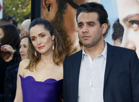 bobby: Rose Byrne and Bobby Cannavale at the Los Angeles premiere of 'Neighbors 2: Sorority Rising' held at the Regency Village Theatre in Westwood, USA on May 16, 2016.
