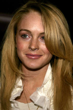 lindsay: Lindsay Lohan at the Pioneer Electronics Automotive Navigation Systems Launch Party held at the Montmartre Lounge in Hollywood, USA on April 21, 2005.