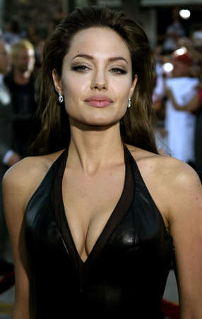 angelina jolie: Angelina Jolie at the Los Angeles Premiere of Mr. & Mrs. Smith held at the Manns Village Theater in Westwood, USA on June 7, 2005.