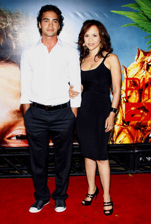 perez: Rosie Perez and Ramon Rodriguez at the Los Angeles premiere of Pineapple Express held at the Mann Village Theater in Los Angeles on July 31, 2008. Editorial