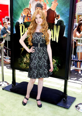 katherine: Katherine McNamara at the Los Angeles premiere of ParaNorman held at the Universal CityWalk in Universal City, USA on August 5, 2012.