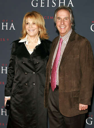 memoirs: Henry Winkler attends the Los Angeles Premiere of Memoirs of a Geisha held at the Kodak Theatre in Hollywood, California, United States on December 4, 2005.