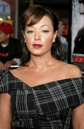 leah: HOLLYWOOD, CA - MAY 04, 2006: Leah Remini at the Los Angeles premiere of Mission: Impossible 3 held at the Graumans Chinese Theatre in Hollywood, USA on May 4, 2006. Editorial