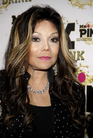 La Toya Jackson at the Mr. Pink Ginseng Drink Launch Party held at the Regent Beverly Wilshire Hotel in Beverly Hills, USA on October 11, 2012. 報道画像