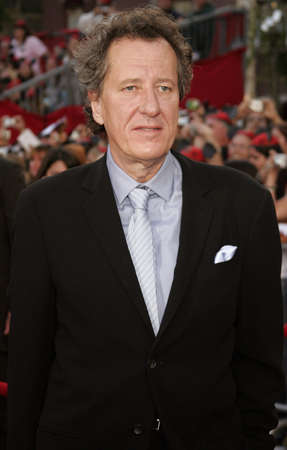 Geoffrey Rush attends the World Premiere of Pirates of the Caribbean: At Worlds End held at Disneyland in Anaheim, California on May 19, 2007.