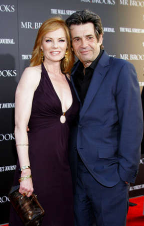 alan: Alan Rosenberg and Marg Helgenberger at the Los Angeles Premiere of Mr. Brooks held at the Graumans Chinese Theater in Hollywood on May 22, 2007. Editorial