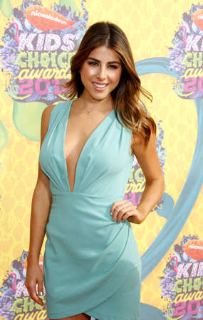 monet: Daniella Monet at the Nickelodeons 27th Annual Kids Choice Awards held at the USC Galen Center in Los Angeles on March 29, 2014 in Los Angeles, California.