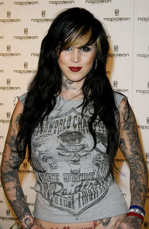 unveiling: Kat Von D attends the Napoleon Perdis Hollywood Store Unveiling held at the Napoleon Perdis in Hollywood, California on May 1, 2007. Editorial