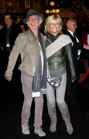 premiere: Keith Richards and Patti Hansen at the Los Angeles premiere of Pirates Of The Caribbean: On Stranger Tides held at the Disneyland in Anaheim on May 7, 2011.