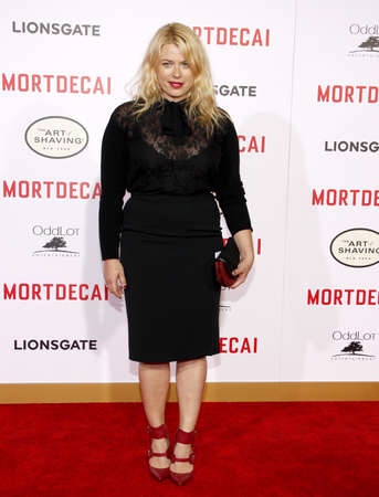 amanda: Amanda de Cadenet at the Los Angeles premiere of Mortdecai held at the TCL Chinese Theater in Hollywood on January 21, 2015.