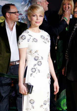 Michelle Williams at the 'Oz The Great And Powerful' Los Angeles Premiere at the Dolby Theater on April 10, 2013 in Hollywood, California.