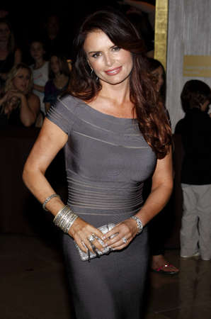 Roma Downey at the Operation Smile's 8th Annual Smile Gala held at the Beverly Hilton Hotel in Beverly Hills, USA on October 2, 2009.