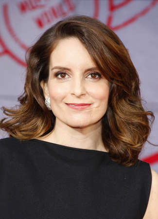 fey: Tina Fey at the Los Angeles premiere of Muppets Most Wanted held at the El Capitan Theatre in Los Angeles, United States, 110314.