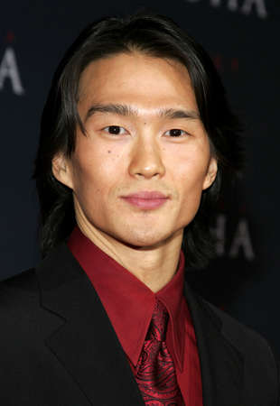 Karl Yune attends the Los Angeles Premiere of