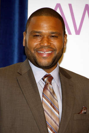 nominations: BEVERLY HILLS, CA - NOVEMBER 15, 2012: Anthony Anderson at the Peoples Choice Awards 2013 Nominations held at the Paley Center in Beverly Hills, USA on November 15, 2012.