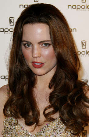 unveiling: Melissa George attends the Napoleon Perdis Hollywood Store Unveiling held at the Napoleon Perdis in Hollywood, California on May 1, 2007. Editorial