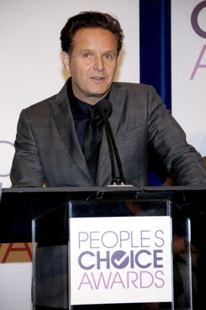 nominations: BEVERLY HILLS, CA - NOVEMBER 15, 2012: Mark Burnett at the Peoples Choice Awards 2013 Nominations held at the Paley Center in Beverly Hills, USA on November 15, 2012. Editorial