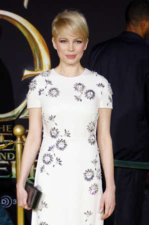 dolby: Michelle Williams at the Oz The Great And Powerful Los Angeles Premiere at the Dolby Theater on April 10, 2013 in Hollywood, California.