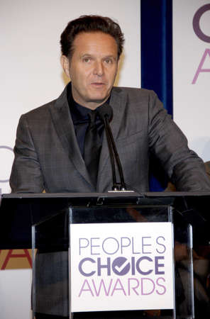 nominations: BEVERLY HILLS, CA - NOVEMBER 15, 2012: Mark Burnett at the People's Choice Awards 2013 Nominations held at the Paley Center in Beverly Hills, USA on November 15, 2012.