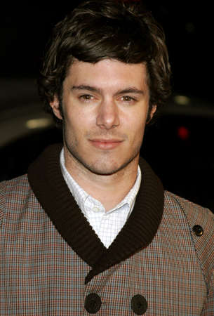 letras musicales: Adam Brody attends the Los Angeles Premiere of Music and Lyrics held at the Graumans Chinese Theater in Hollywood, California on February 7, 2007.