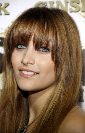 Paris Jackson at the Mr. Pink Ginseng Drink Launch Party held at the Regent Beverly Wilshire Hotel in Beverly Hills, USA on October 11, 2012.