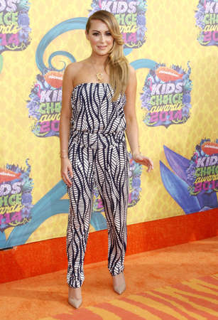 alexa: Alexa Vega at the Nickelodeons 27th Annual Kids Choice Awards held at the USC Galen Center in Los Angeles on March 29, 2014 in Los Angeles, California.