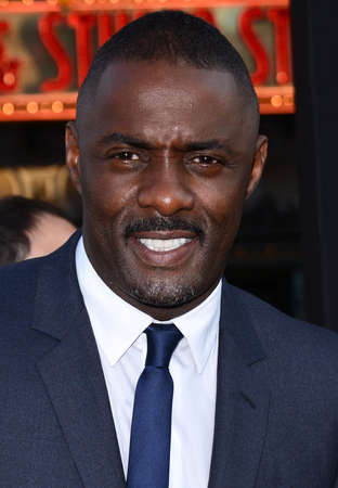 Idris Elba at the Los Angeles premiere of 'Pacific Rim' held at the Dolby Theater in Hollywood on July 9, 2013 in Los Angeles, California.