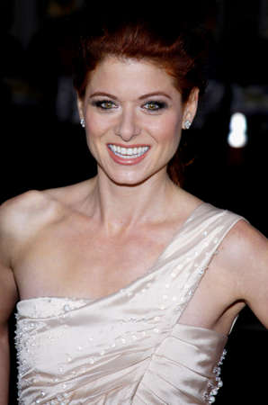 messing: Debra Messing at the Los Angeles premiere of Nothing Like The Holidays held at the Graumans Chinese Theater in Hollywood, USA on December 3, 2008. Editorial