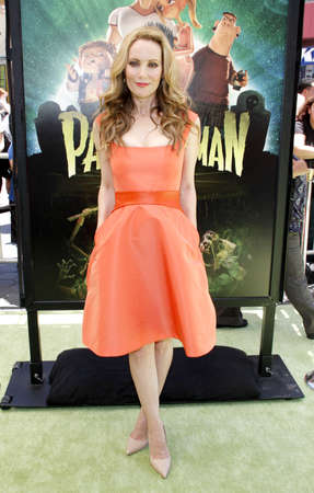 premiere: Leslie Mann at the Los Angeles premiere of 'ParaNorman' held at the Universal CityWalk in Universal City, USA on August 5, 2012. Editorial