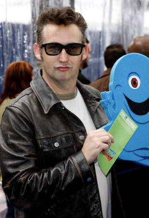 gibson: Harland Williams at the Los Angeles premiere of Monsters vs. Aliens held at the Gibson Amphitheatre in Universal City on March 22, 2009.