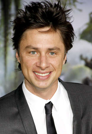 dolby: Zach Braff at the Oz The Great And Powerful Los Angeles Premiere at the Dolby Theater on April 10, 2013 in Hollywood, California.