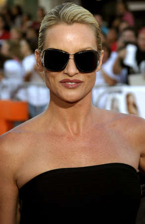 mr and mrs: Nicollette Sheridan at the Los Angeles Premiere of Mr. & Mrs. Smith held at the Manns Village Theater in Westwood, USA on June 7, 2005. Editorial