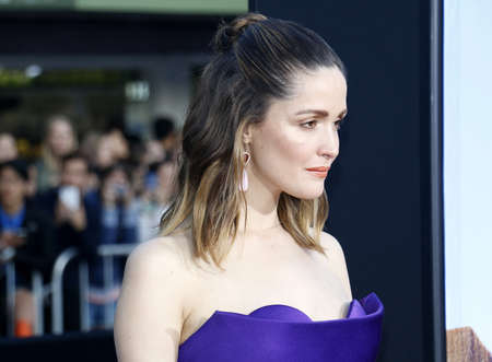 sorority: Rose Byrne at the Los Angeles premiere of Neighbors 2: Sorority Rising held at the Regency Village Theatre in Westwood, USA on May 16, 2016. Editorial