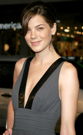 north hollywood: HOLLYWOOD, CA - OCTOBER 10, 2005: Michelle Monaghan at the Los Angeles premiere of North Country held at the Graumans Chinese Theatre in Hollywood, USA on October 10, 2005.