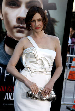 mann: Vera Farmiga at the Los Angeles premiere of Orphan held at the Mann Vilage Theater in Westwood, USA on July 21, 2009.