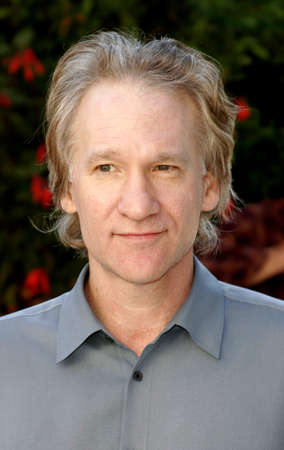remembering: HOLLYWOOD, CA - OCTOBER 05, 2005: Bill Maher at the remembering Rodney Dangerfield held at at the home of Joan Dangerfield in Hollywood, USA on October 5, 2005.